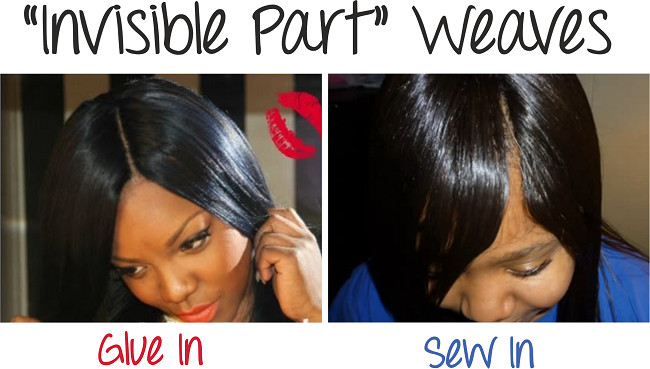 "How To Do ""Invisible Part"" Weaves – Two Methods Of Installation"
