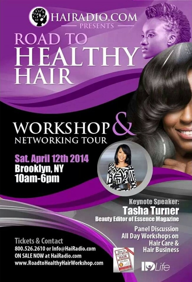 Road To Healthy Hair Tour