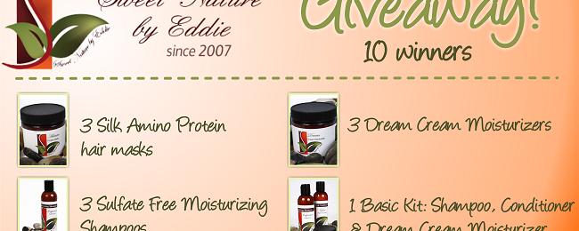 Sweet Nature By Eddie Giveaway – 10 Winners! (CLOSED)