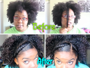 Twist And Style Tutorial For Natural Hair