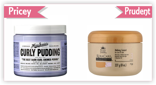 pricey vs prudent curly pudding