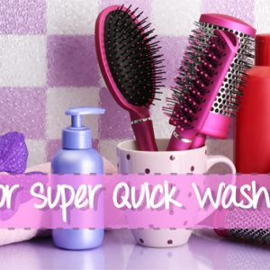6 Tips For Super Quick Wash Days