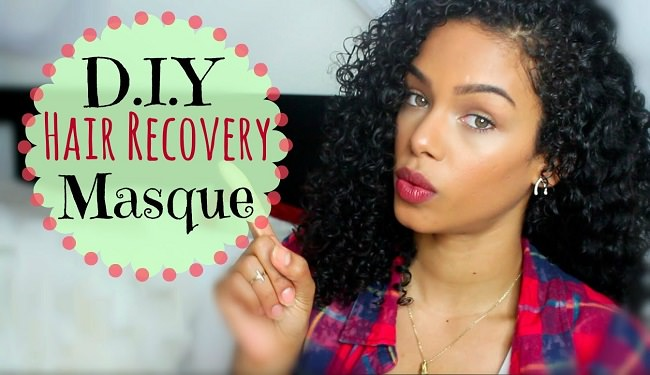 A DIY Hair Recovery Mask