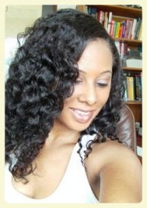 Best braid out on relaxed hair