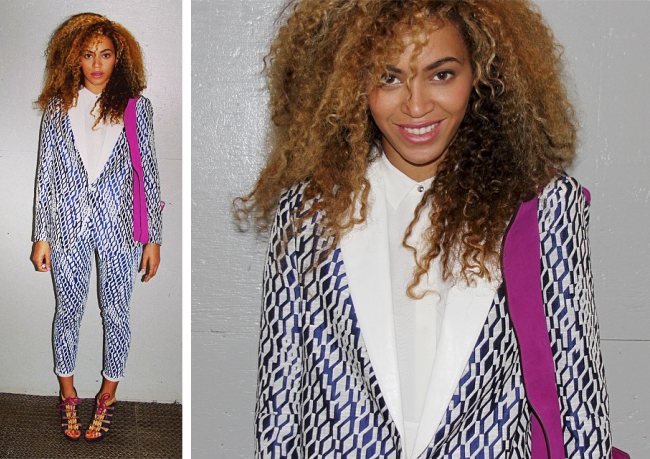 Beyonce natural texture