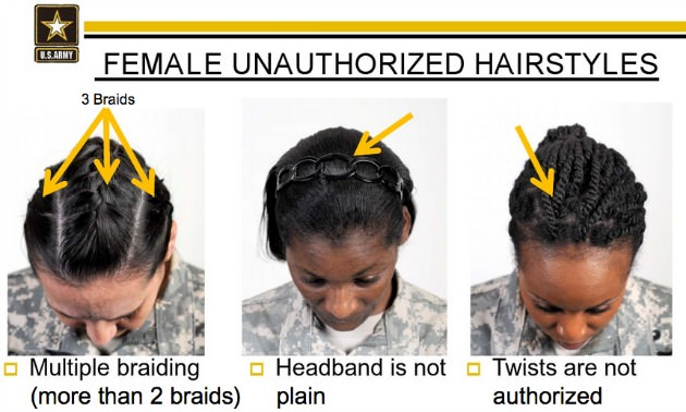 New Army Regulations Inherently Discriminatory To Natural Hair