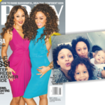Tia and Tamera Cover Ebony Magazine & Take The Cutest Family Selfie