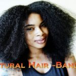 Heatless Stretched Afro Using The Banding Method