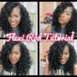 Big Bouncy Flexi Rod Tutorial On Natural Hair by Kelsey