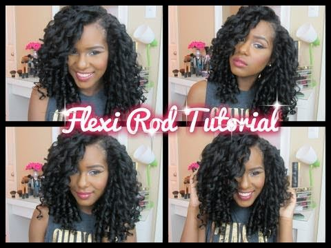 Hairstyles Using Flexi Rods : Kelsey mentioned a few tips for a great set and we have a few as well: