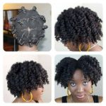 Bantu knot out. Lovely!