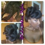Gorgeous updo @colormeque_styles instagram