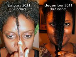 Good things can happen to your hair in 12 months with a good regimen
