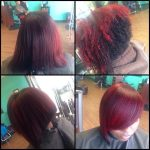 Combo cut and color