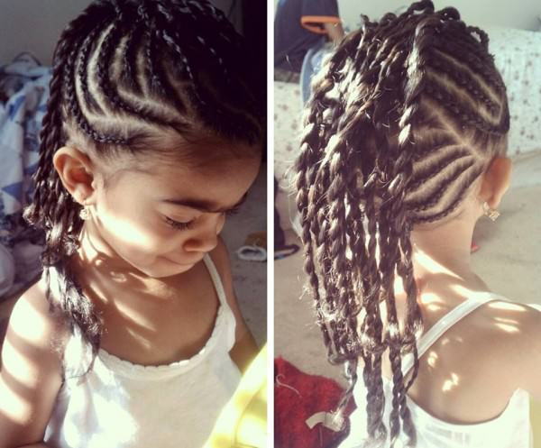 Carlena S Natural Braided Mohawk Black Hair Information