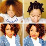 Lovely bantu knot out