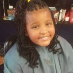 Cute kiddie braids styled by Amillyon of Sew Dolled Total Image