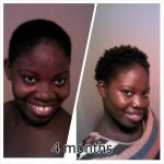 Chrystal from Jamaica is 4 months natural and loving it!