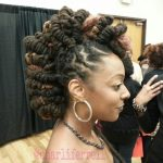 Fierce style with locs