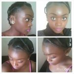 Nancy's African threading style – to protect or to stretch natural hair