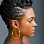 Another gorgeous protective style. I wish I had the face for it!