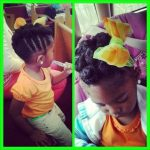 Another little girl updo