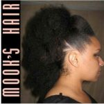 Blown out frohawk