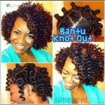 Another bantu knot out