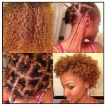 Twists and bantu knots for a curly fro