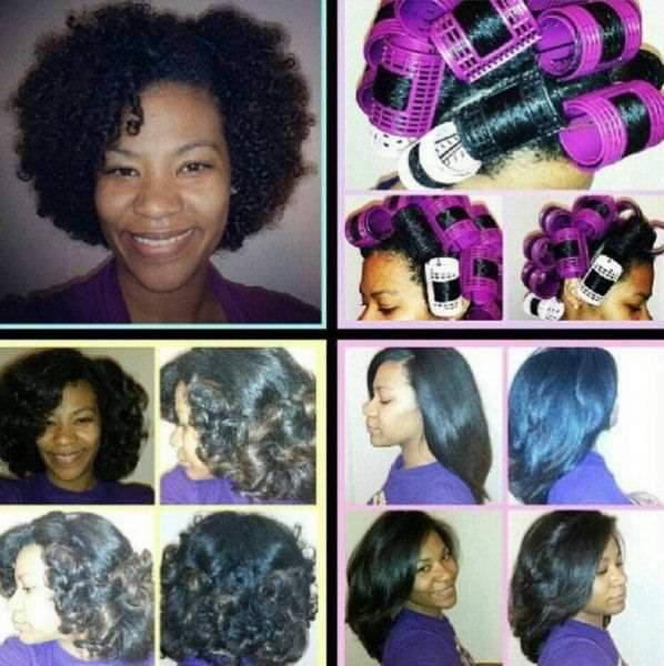 Best Roller Set For Natural Hair