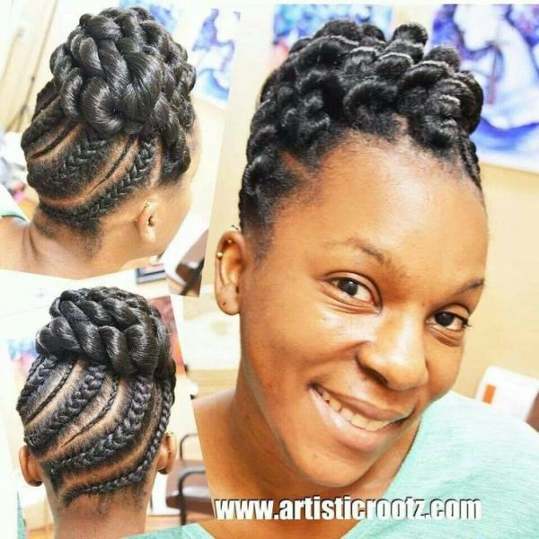 protective braid styles for relaxed hair protective styling black hair information 8592