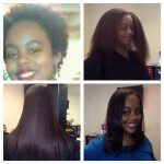 2 years to grow out only flat ironed twice a year shared by Toni Sanders