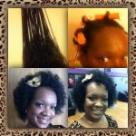 Nicole has been Transitioning for 7 months – hairstyle idea