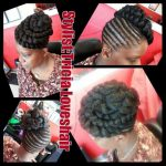 Simple updo styled by Tricia