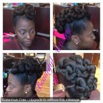 This pretty updo was styled by Marquita of Chicago.
