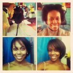 Nicauly's big chop after 1 year and 2 weeks. Excellent growth!