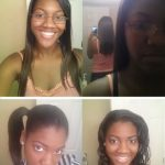 Cleopatra natural hair dominican blow out