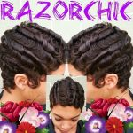 Finger waves by @razorchicofatlanta So talented!