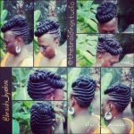 Unique style by The Braiding Studio by Ekua