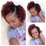 Beautiful flat twist/twist out combo
