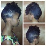 Fine flat twists updo – Gorgeous! From Khamit Kinks salon