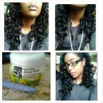 Heatless curls using a mascara tube – Rielle is natural