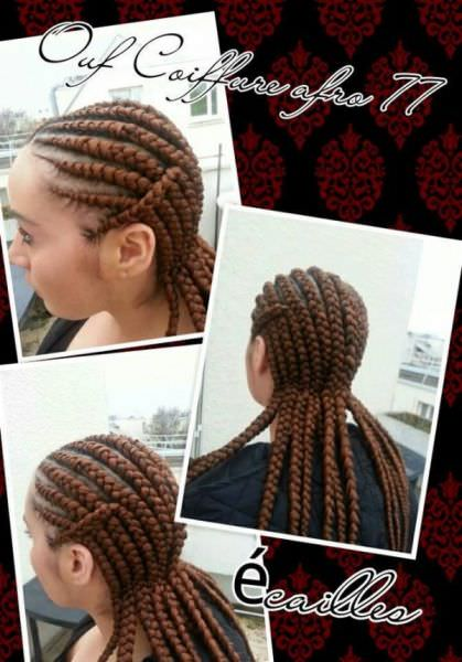 Cornrows By Ouf Coiffure Afro 77 Black Hair Information