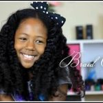 Alicia James' daughter is so adorable! Kelli-Nicole's Braid-Out Tutorial