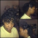 Nyoka's twist out – transitioning for 7 months now
