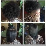 Eboni's blow out shared by Beverly