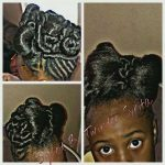 Bow updo styled by Twinder Syrita (must be for a special occasion)