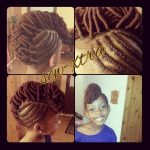 Updo shared by Shontecia – Sew-xtra styles by shon on FB