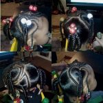 Very age appropriate  Zyria hair done by Mz.Wade