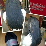 Twists with wool by Ouf Coiffure afro 77